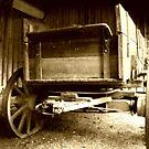Old Sepia Wagon by Richard Skoropat
