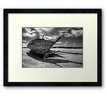 'Eddie's Boat' Framed Print