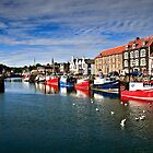 Eyemouth Harbour, Scottish Borders, Scotland by David Lewins LRPS