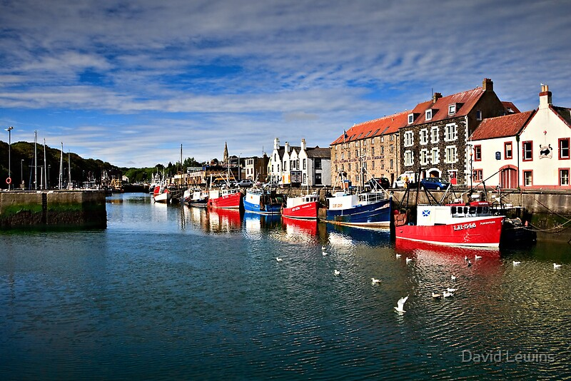 """Eyemouth Harbour, Scottish Borders, Scotland"" by David ..."