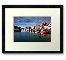 Eyemouth Harbour, Scottish Borders, Scotland Framed Print
