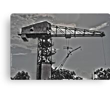 The Crane Canvas Print