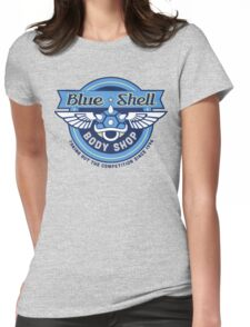 Blue Shell Auto Body Womens Fitted T-Shirt