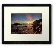 'Murder Hole Beach' Framed Print
