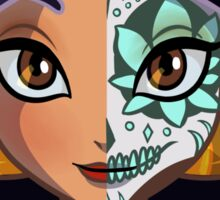 Sugar Skull Series: Jasmine Sticker