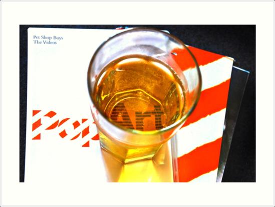 Glassful of pop! - Pet Shop Boys Tribute Artwork by Denis Marsili - DDTK