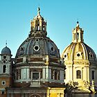 Domes of Rome by MariaVikerkaar