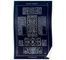A Handbook Of Ornament With Three Hundred Plates Franz Sales Meyer 1896 0281 Enclosed Ornament Oblong Panel Inverted Poster