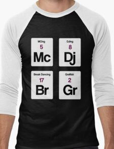 The Four Elements of Hip Hop Men's Baseball ¾ T-Shirt