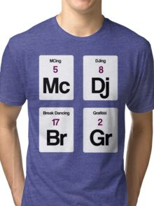 The Four Elements of Hip Hop Tri-blend T-Shirt