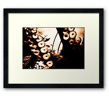 Octopus Tentacles Framed Print