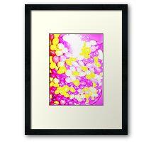 UNI Skittles Framed Print