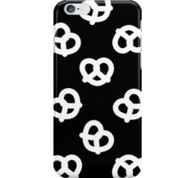 Pretzels - Black iPhone Case/Skin