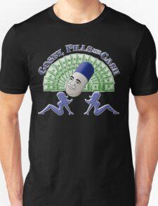 Bill Cosby - Cosby, Pills & Cash T-Shirt