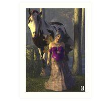 Gypsy Fae Art Print
