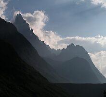 Lower Vallon de la Lee Blanche - Italian Alps by Kat Simmons
