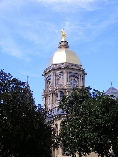 Main Building ~ Notre Dame University by Marie Sharp