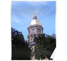 Main Building ~ Notre Dame University Poster