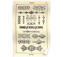 A Handbook Of Ornament With Three Hundred Plates Franz Sales Meyer 1896 0503 Jewelry Chain Poster
