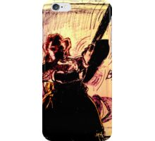 'LEATHER-FACE' iPhone Case/Skin