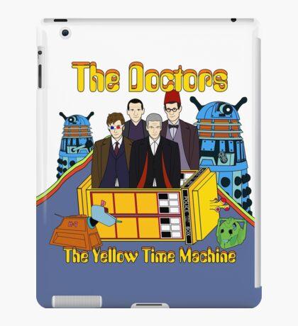 The Yellow Time Machine iPad Case/Skin