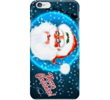 Santa Merry Christmas iPhone Case/Skin