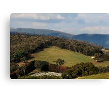 Melbourne's Country Living - Victoria Canvas Print