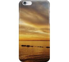 Golden Sunset at Brighton Beach iPhone Case/Skin