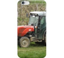 Red Tractor  iPhone Case/Skin