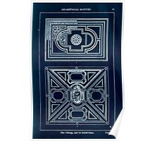 A Handbook Of Ornament With Three Hundred Plates Franz Sales Meyer 1896 0041 Geometrical Elements Oblong Subdivision Inverted Poster