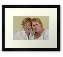 That's Ma Julie:-) Framed Print