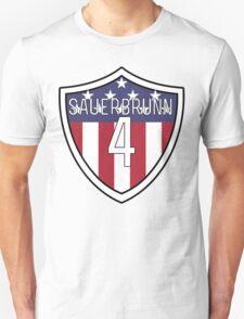 Becky Sauerbrunn #4 | USWNT Unisex T-Shirt