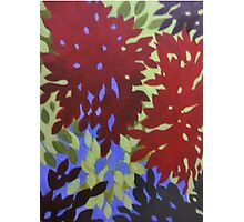 ABSTRACT FLORAL Photographic Print