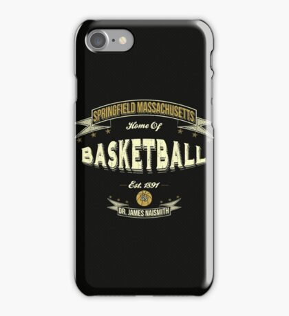 Vintage Basketball iPhone Case/Skin