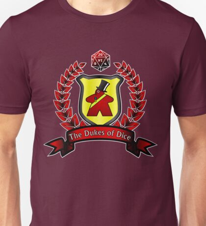 Dukes of Dice Apparel Unisex T-Shirt