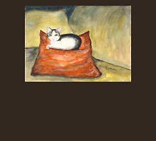 Kitten on Silk Cushion Unisex T-Shirt