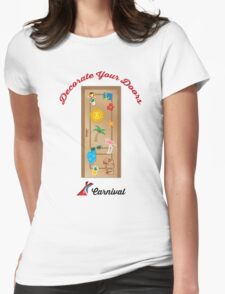 Decorate Your Door Womens Fitted T-Shirt