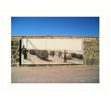 Welcome to Robben Island  Art Print