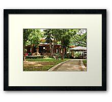 Quezon Memorial Circle canteen 30 Framed Print