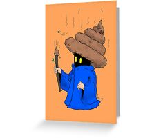 Poo Mage Greeting Card