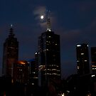 Melbourne at night 09 [r] by DavidsArt