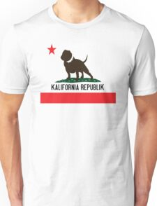 Kalifornia Republik Flag Unisex T-Shirt