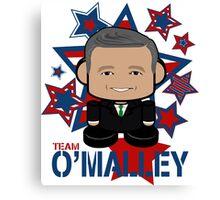 Team O'Malley Politico'bot Toy Robot Canvas Print