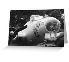 B17 Bomber Greeting Card