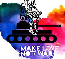 Make Love Not War Tank by AnastasiaNensy