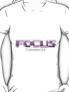Purple Focus T-Shirt