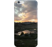 Wind River Range Sunset iPhone Case/Skin