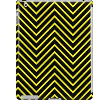 Black Yellow Chevron iPad Case/Skin