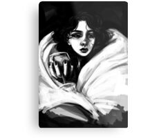 wrapped in covers Metal Print