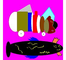 Fishy Business Photographic Print